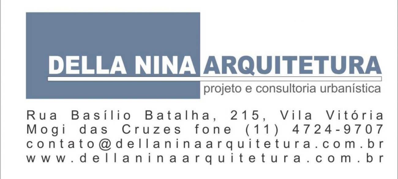 logotipo com endereço
